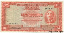100 Escudos MOZAMBIQUE  1950 P.103 TTB