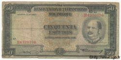 50 Escudos MOZAMBIQUE  1958 P.106 AB
