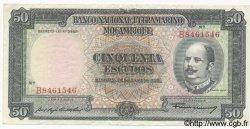 50 Escudos MOZAMBIQUE  1958 P.106 TTB+
