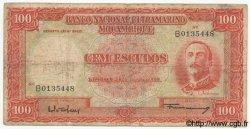 100 Escudos MOZAMBIQUE  1958 P.107 B