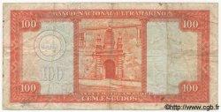 100 Escudos MOZAMBIQUE  1958 P.107 pr.TB
