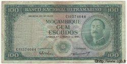 100 Escudos MOZAMBIQUE  1961 P.109a B