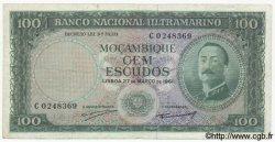 100 Escudos MOZAMBIQUE  1961 P.109a TB