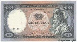 1000 Escudos MOZAMBIQUE  1972 P.112 TTB+