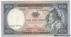 1000 Escudos MOZAMBIQUE  1972 P.112 pr.TTB