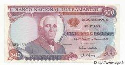 500 Escudos MOZAMBIQUE  1972 P.114 pr.NEUF
