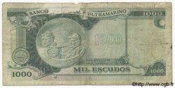 1000 Escudos MOZAMBIQUE  1972 P.115 B+