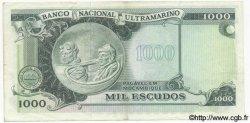 1000 Escudos MOZAMBIQUE  1972 P.115 TTB