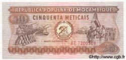 50 Meticais MOZAMBIQUE  1980 P.125 NEUF