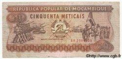 50 Meticais MOZAMBIQUE  1986 P.129b NEUF