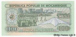 100 Meticais MOZAMBIQUE  1983 P.130 NEUF