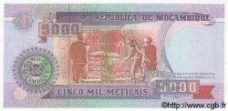 5000 Meticais MOZAMBIQUE  1991 P.136 NEUF