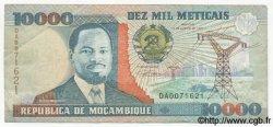 10000 Meticais MOZAMBIQUE  1991 P.137 TTB