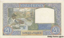 20 Francs SCIENCE ET TRAVAIL FRANCE  1940 F.12.11 pr.SPL