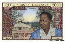 5000 Francs CAMEROUN  1961 P.08s