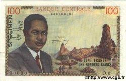 100 Francs CAMEROUN  1962 P.10s SPL