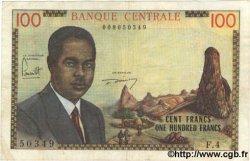 100 Francs CAMEROUN  1962 P.10 TB
