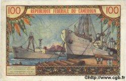 100 Francs CAMEROUN  1962 P.10 TTB