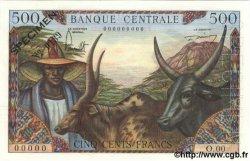 500 Francs CAMEROUN  1962 P.11s SUP