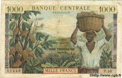 1000 Francs CAMEROUN  1962 P.12 TB