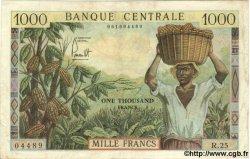 1000 Francs CAMEROUN  1962 P.12 TTB
