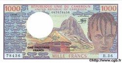 1000 Francs CAMEROUN  1982 P.16d