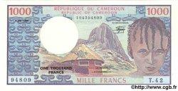 1000 Francs CAMEROUN  1984 P.21 SUP