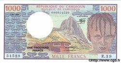 1000 Francs CAMEROUN  1984 P.21 pr.NEUF