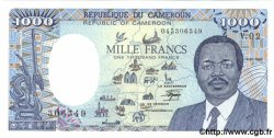 1000 Francs CAMEROUN  1986 P.26a pr.NEUF