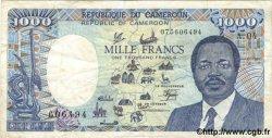 1000 Francs CAMEROUN  1987 P.26a TB+