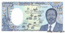 1000 Francs CAMEROUN  1988 P.26a pr.NEUF