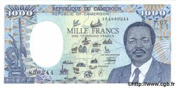1000 Francs CAMEROUN  1990 P.26b SPL