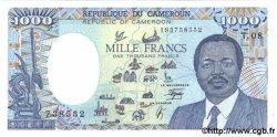 1000 Francs CAMEROUN  1990 P.26b NEUF