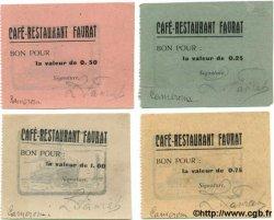 25, 50, 75 Centimes et 1 Franc CAMEROUN  1920 P.-- SPL