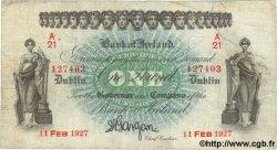 1 Pound IRLANDE  1927 P.A039b