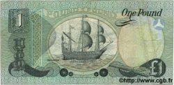 1 Pound IRLANDE DU NORD  1982 P.001a TB