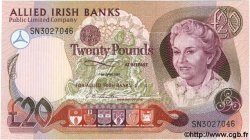 20 Pounds IRLANDE DU NORD  1987 P.008 NEUF