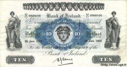 10 Pounds IRLANDE DU NORD  1942 P.053b TTB+