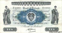 10 Pounds IRLANDE DU NORD  1942 P.053b TTB+ à SUP