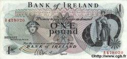 1 Pound IRLANDE DU NORD  1967 P.056 SUP