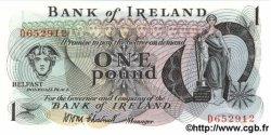 1 Pound IRLANDE DU NORD  1972 P.061a NEUF