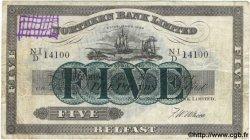 5 Pounds IRLANDE DU NORD  1940 P.180b TB à TTB