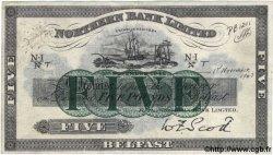 5 Pounds IRLANDE DU NORD  1942 P.180b TTB