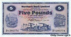 5 Pounds IRLANDE DU NORD  1970 P.188 NEUF