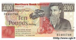 10 Pounds IRLANDE DU NORD  1988 P.194 NEUF