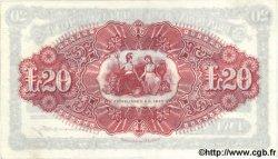 20 Pounds IRLANDE DU NORD  1944 P.234 SPL