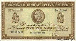 5 Pounds IRLANDE DU NORD  1965 P.244 pr.SUP