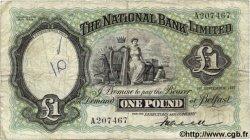 1 Pound IRLANDE DU NORD  1937 P.155 TB
