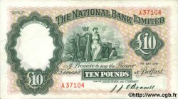 10 Pounds IRLANDE DU NORD  1949 P.160a TTB+