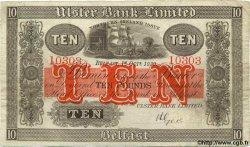 10 Pounds IRLANDE DU NORD  1930 P.308 TB+